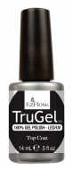 TruGel Top Coat, 14 мл. - верхнее покрытие для гелевого лака (3 фаза) #19312