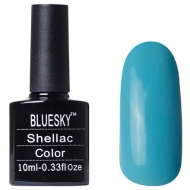 Shellac Bluesky #80555 Haven Blue Голубая эмаль