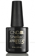 CND Shellac XPRESS5 Top Coat, 15 мл. верхнее покрытие